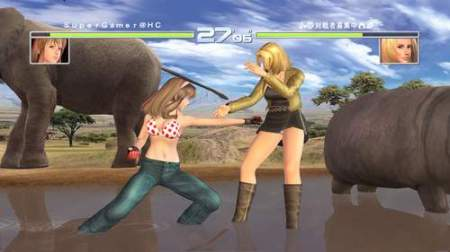 Hitomi vs. Tina